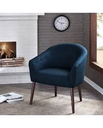 Navy Blue Accent Chair Deal Alert Carson Camilla Mid Century Navy Blue Accent