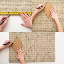 tappeti fai da te decorazione fai da te per il tappeto fai da te creativo