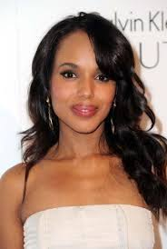 pic of black women side swept bangs and bun hairstyle 20 kute kerry washington hair color best hair color for black