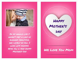 happy mother u0027s day card templates pageprodigy u2013 print for 1