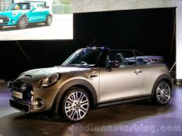 new peugeot convertible 2016 2016 mini convertible launched at inr 34 9 lakhs