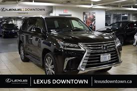 lexus minivan used 2017 lexus lx 570 for sale toronto on