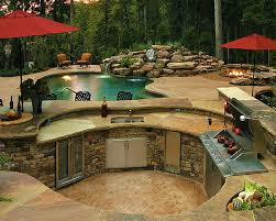 outdoor kitchen island top 20 outdoor kitchen designs and costs home improvement advice