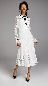 temperley london temperley london eclipse lace collar dress shopbop