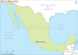map of mexico cities where is mexico city located mexico city location on map