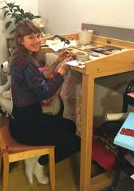 Jewellers Bench For Sale Emir U2013 Workbenches Handtools And Harris Looms Evie Armstrong