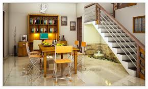 model home interior designers stair delectable home interior design using half turn glass