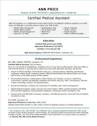 resume format administrative officers exams 4 driving lights medical assistant resume sle monster com