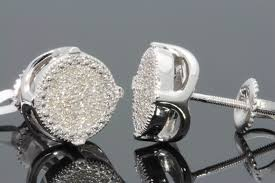 diamond stud earrings for men shop real diamond stud earrings online starts from 79
