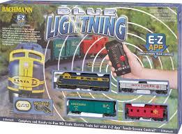 bachmann ho 01501 blue lightning set with e z app wireless