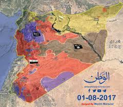 Syria War Map by Maxim Mansour Maximmansour Twitter