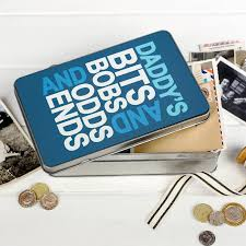personalised u0027bits and bobs u0027 storage tin by the little picture