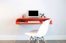 Small Wall Desk Minimal Float Wall Desk Viesso