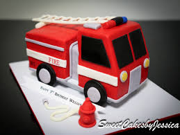 firetruck cakes truck cake boys birthday party cake ideas cakes