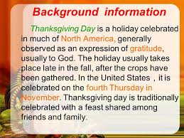 why do we celebrate thanksgiving day history meaning information