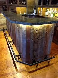 basement bar top ideas improbable basement bar reclaimed wood ideas best bar tops ideas