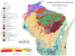Wisconsin vegetaion images Maps geology geography jpg