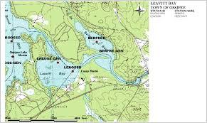Lake Pleasant Map Sampling Station Maps Annual Reports Volunteer Lake Assessment