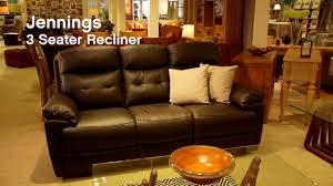 sofas by you from harveys jennings leather sofa harveys youtube