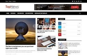 free magazine blogger template free responsive magazine blogger news template