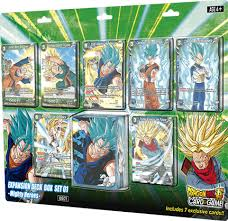 dragon ball super card game expansion deck box set 01 mighty