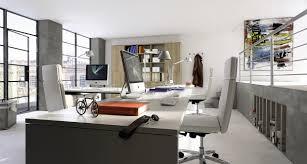 interior small home office in master bedroom over wooden floor