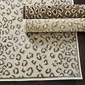 Leopard Runner Rug Animal Print Runner Rug Ballard Designs
