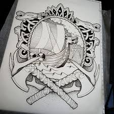 best 25 traditional viking tattoos ideas on pinterest
