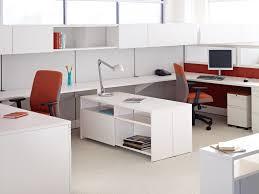 white gloss computer desk office bestar hampton corner computer desk modern new office