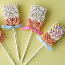 spring rice krispies pops u2013 glorious treats