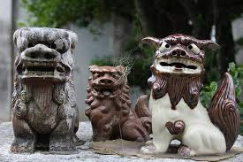 shisa statues shisa traditional ryukyuan statue which is used to ward evil