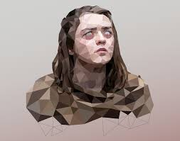 game of thrones u0027 low poly 2016 on behance