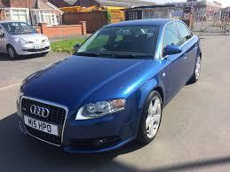 2005 55 audi a4 2 0 tdi s line 140 4 door manual in blue 1