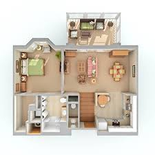 Floor Plan For 600 Sq Ft Apartment by Retirement Apartment Communities Near Asheville Nc