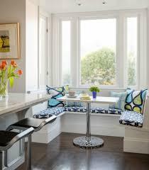 bay window with seat curtain 2017 also kitchen table pictures