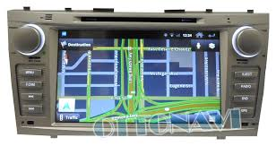 2011 toyota camry navigation system toyota camry 2007 2011 hts android in dash multimedia navigation