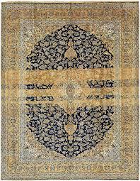 Kashan Persian Rugs by Navy Blue 9 U0027 8 X 12 U0027 5 Kashan Persian Rug Persian Rugs Rugs Ca