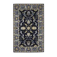 home decorators area rugs home decorators collection aristocrat blue 9 ft x 12 ft area rug