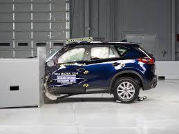 mazda small car 2014 mazda cx 5 driver side small overlap iihs crash test youtube