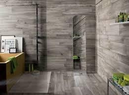Gray Tile Bathroom Ideas by Best 25 Wood Tile Bathrooms Ideas On Pinterest Wood Tiles