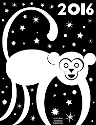 year of the monkey graffiti resolutions free printables the