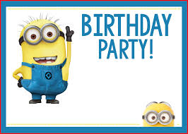 minions birthday party minions party invitations 4427 minion birthday party invites