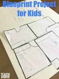 free printable blueprints blueprints and architecture for kids inspired by frank lloyd