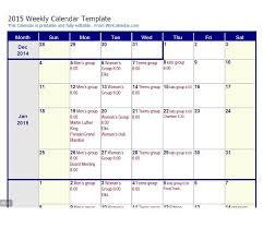 26 blank weekly calendar templates pdf excel word template lab