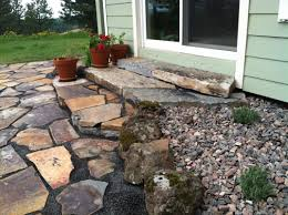 flagstone pavers patio pavers concrete and flagstone mclaughlin landscaping