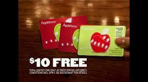 applebee s gift cards applebee s gift cards tv commercial bright idea ispot tv