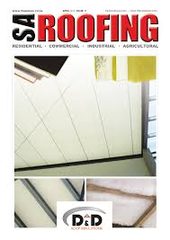 Dynamic Roofing Concepts by Sa Roofing April 2016 Issue 78 By Trademax Publications Issuu
