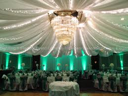 Christmas Lights Ceiling by Sheer White Ceiling Draping U0026 Twinkle Lights Elegant Event