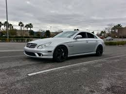 2006 silver mercedes benz cls55 amg pictures mods upgrades