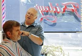 iowa city barber keeps clipping after five decades the gazette
